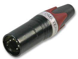 Зеленый цвет 3 pin dmx терминатор xlr разъем для микрофона dj освещение этапа