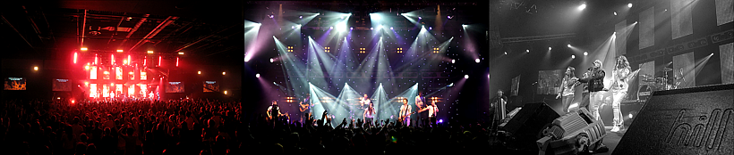 Sound, Lighting, Video and Staging, Audacious Conference